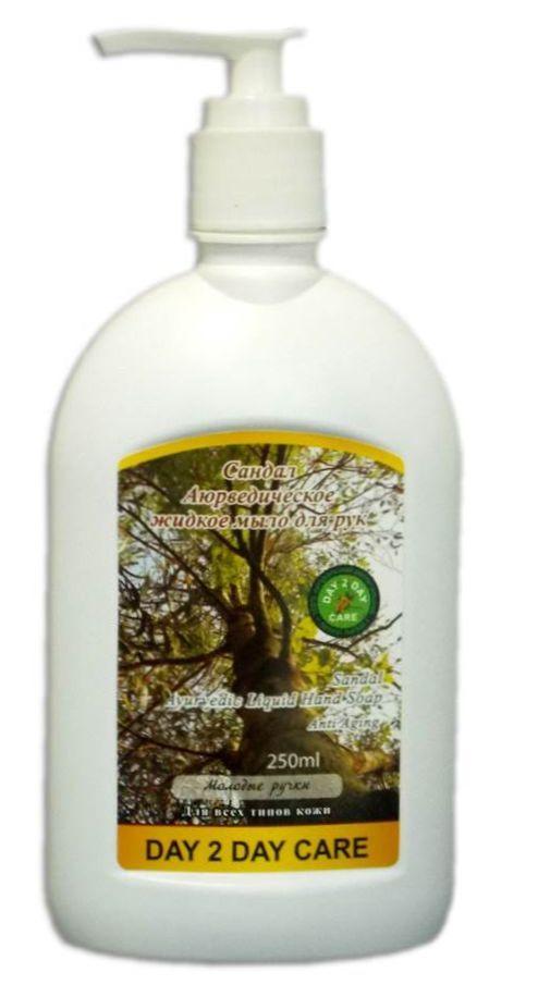 Сандал Аюрведическое жидкое крем мыло,250 мл