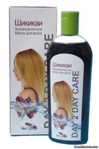 Аюрведическое масло для волос Дэй Ту Дэй Кер(Шикикаи) (Ayurvedic Hair Oil Day 2 Day Care Shikakai)Масло для роста волос