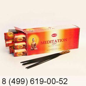 благовония HEM Hexa MEDITATION Медитация
