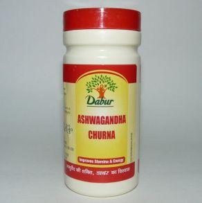 Ashwagandha Churna Dabur 60 гр - Ашвагандха Чурна Дабур (порошок)