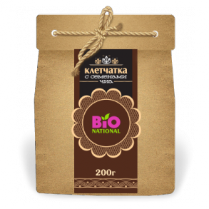 Клетчатка Bionational с семенами ЧИА эко-уп.200 г