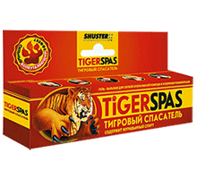 Тигровый Спасатель Бальзам-гель болеутоляющий, противовоспалительный.