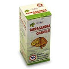 Сарпагандха Unjha «Sarpagandha Ghanvati»для снижении кровяного давления.