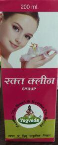 Натуральный сироп для очищения крови RAKTE CLEAN,200мл